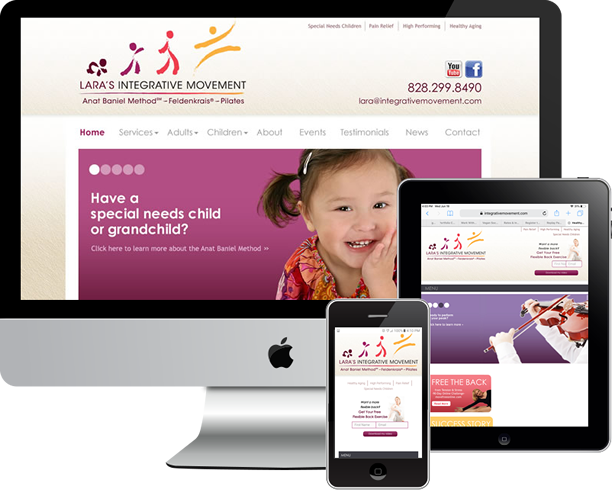 Logo, responsive Wordpress site and SEO for Integrative Movement