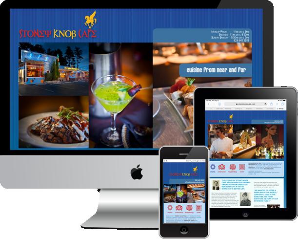 Stoney Knob Cafe, Custom website and SEO